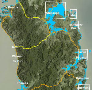 Go to our map and see which areas in Coromandel could be flooded after a tsunami